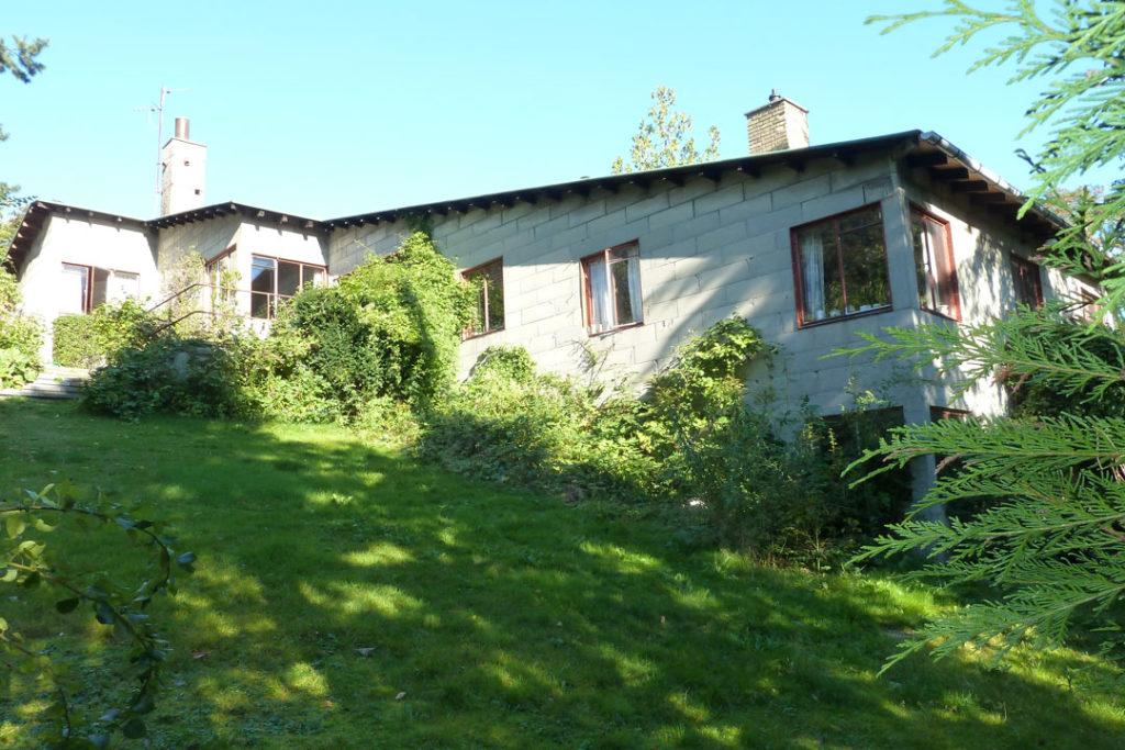 Poul Henningsens hus før renovering