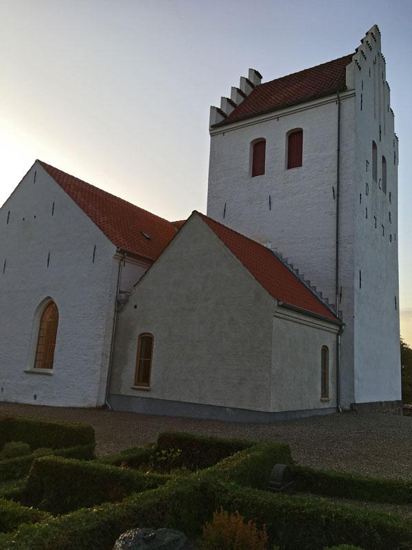 Rye kirke renovering